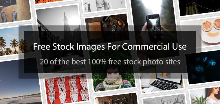 Commercial use for free photos