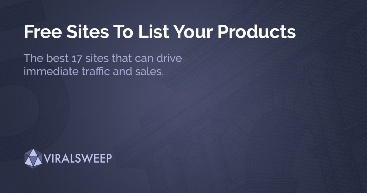 The best sites to list your product launch.