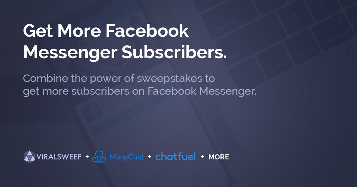 get more facebook messenger subscribers