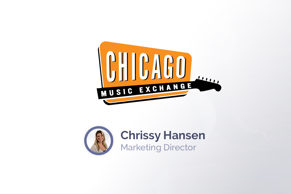 Chicago Music Exchange Testimonial: Our social media channels and our email marketing lists have grown exponentially with Viralsweep.