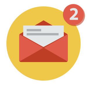 Instantly send entrants an email notification.