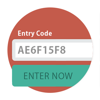 Require unique codes to enter.